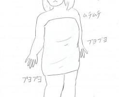 太さのピーク
