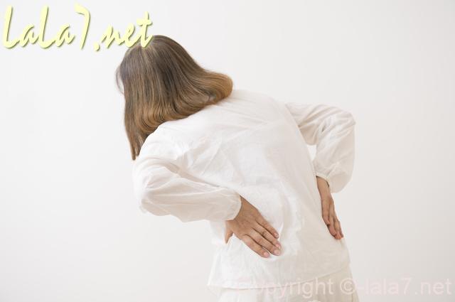 腰 背中 痛みの症状