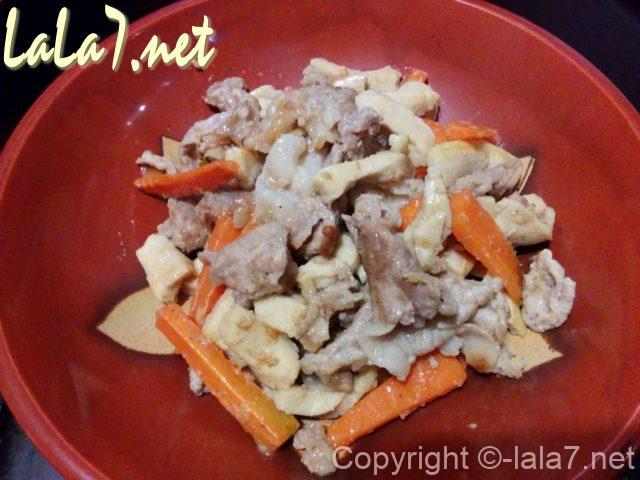高野豆腐の料理