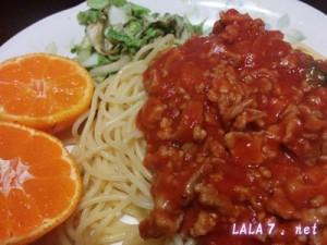 脚痩せ促進の食事・玉ねぎなしミートスパとカブのスープ