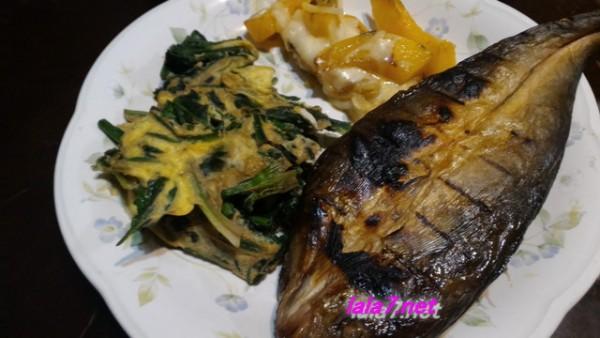 魚料理で糖質制限・夕食はホッケの開きをメインに糖質4.0グラムに収める