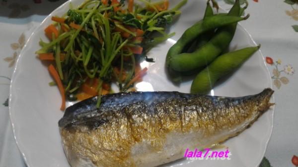 魚料理で糖質制限・夕食はサバをメインに糖質2.05グラム簡単満足