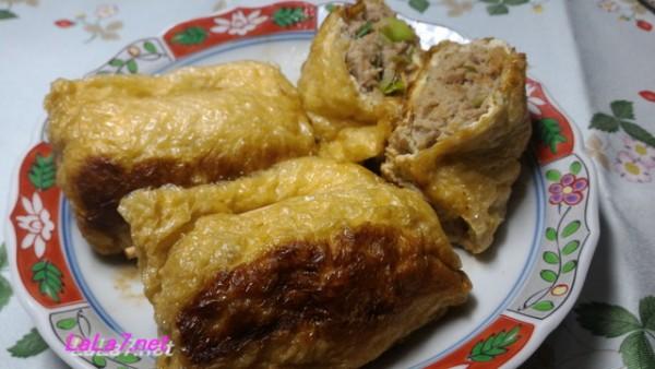 豚ひき肉の揚げ包み焼き・早い安い旨いボリュームありの低糖質の料理