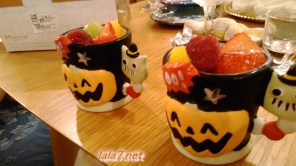 ハロウィンカップケーキ