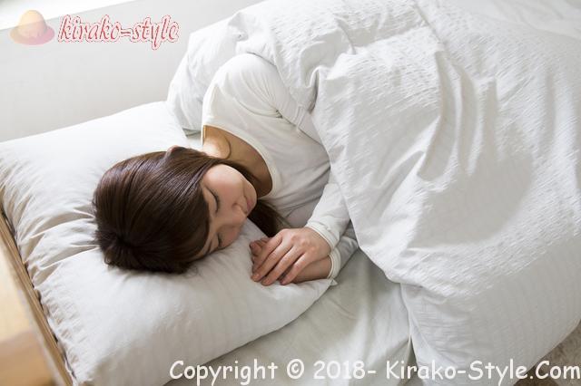 女性の薄毛の原因と改善・50代自分でできる方法です、睡眠の見直し