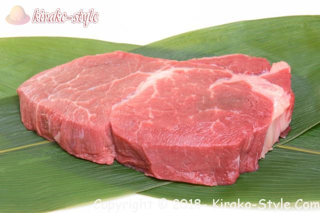 髪を丈夫にする亜鉛とビタミンの働き、亜鉛が多い食品、牛肩肉