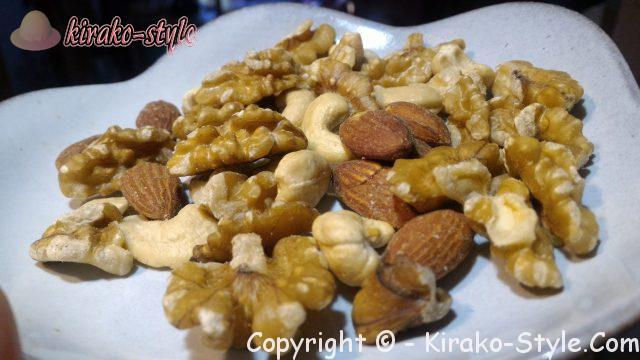 手土産で向いるナッツ類