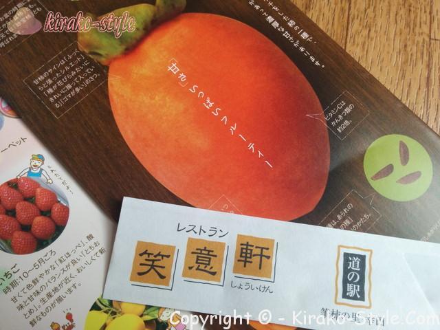 筆柿の写真(パンフレットより)