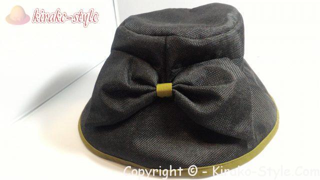 林八百吉(HAYASHI YAOKICHI)のレディースの帽子 黒