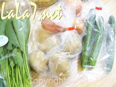 野菜がとても美味しく、普段は買わない野菜も中には入ってきます