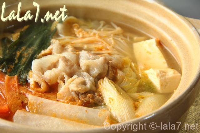 土鍋の鍋料理