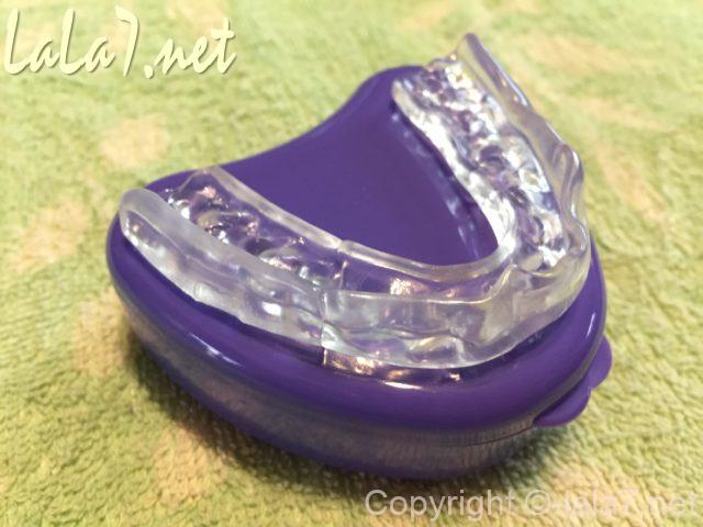 「歯ぎしりマウスガード」日本製 できあがり