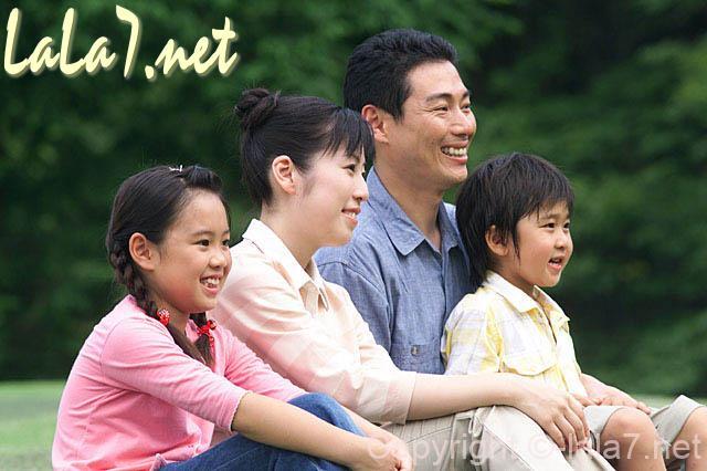 四人家族 ファミリー