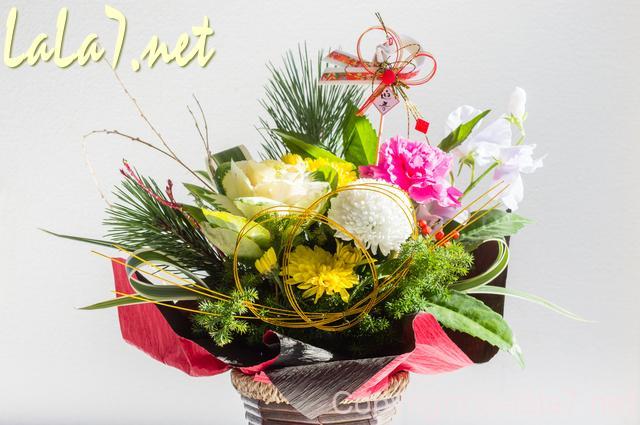 お正月用の飾り花